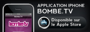 Application iphone bombe.tv